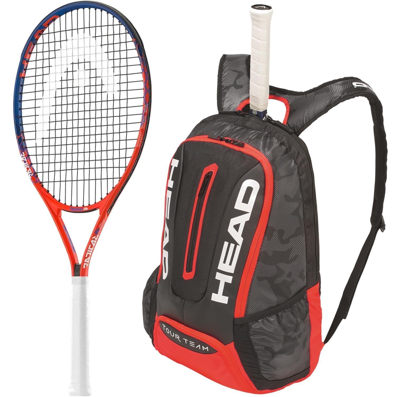 Head Graphene Touch Speed Junior Red Black Tennis Racquet Bundled With A Tennis Bag Novak Djokovic Inspired Racket Talkingbread Co Il
