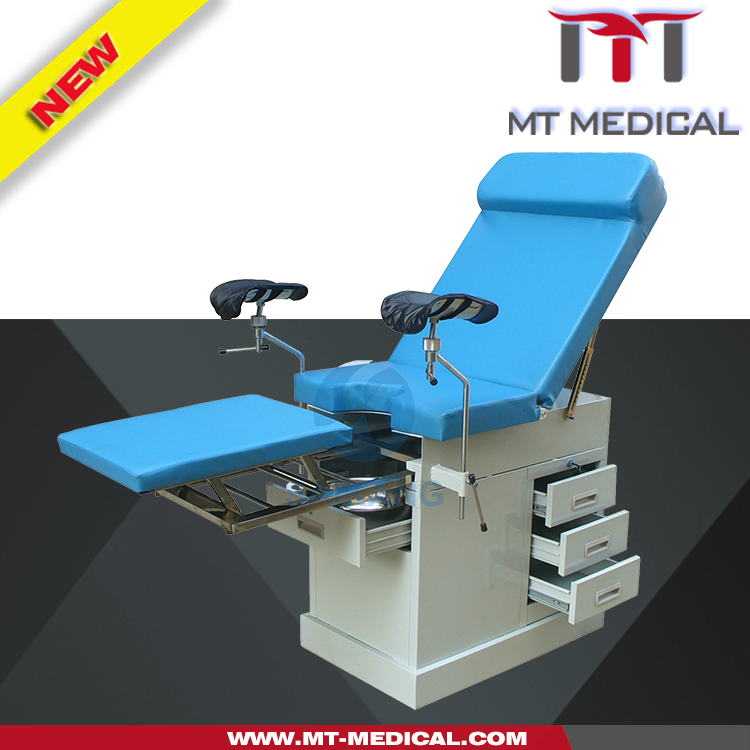 ABCDEF ET-1 Medical Portable Gynecology Examination Chair, Women Exam Bed