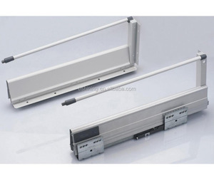 ESP01 Metal Box Kitchen Cabinet Drawer Slide Rail For Drawer