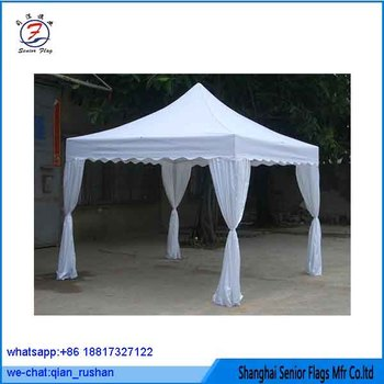 White Steel Frame Outdoor Canopy 5x5 Pop Up Tent From China