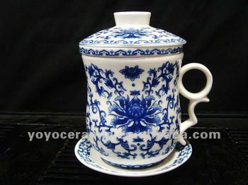 4pcs Set Antique Chinese Porcelain Tea