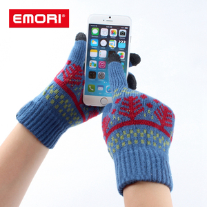 Hot sale multifunctional winter customized touchscreen gloves