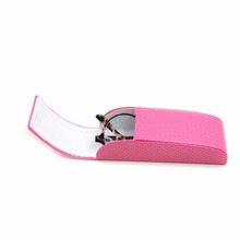 Pink cute cover eyeglasses case for woman