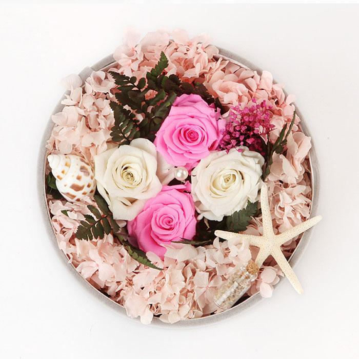 Buy Preserved Fresh Flowers Wedding Decoration Handmade Rose Artware