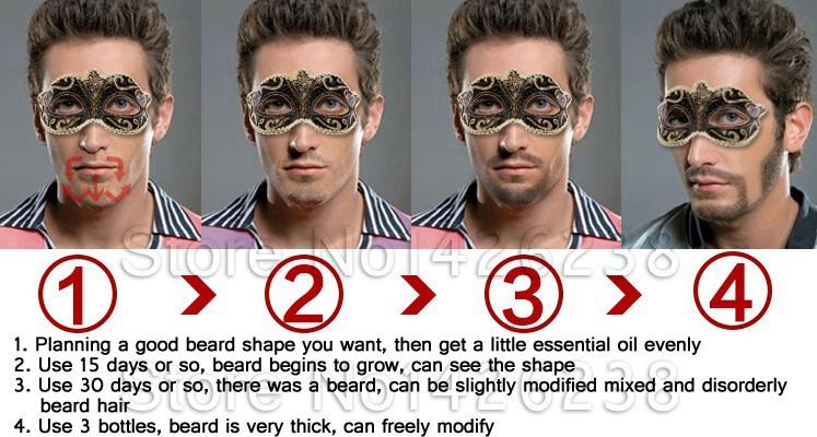 2015 New Beard Growth Oil Beards Hair Thicker Essence Mustache Thick
