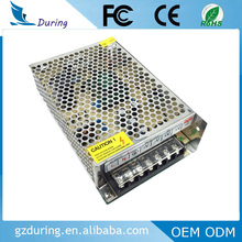 Enclosed CE ROHS 5V 10A 50W AC DC Switching Power Supply for LED Strip Light