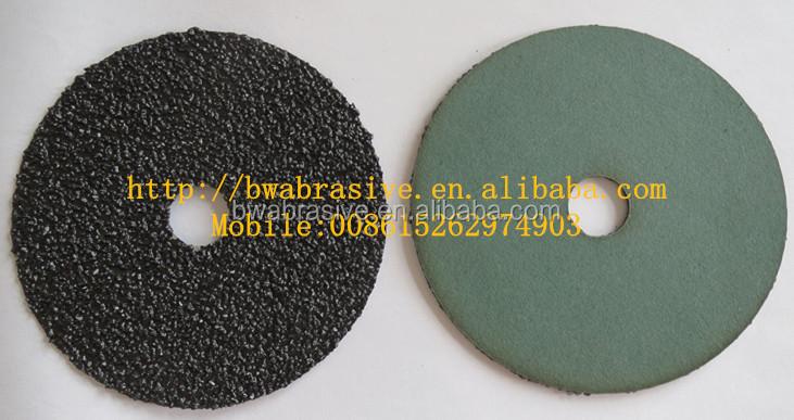 Silicon Carbide Fibers : Silicon carbide fiber disc voor staal slijpgereedschappen