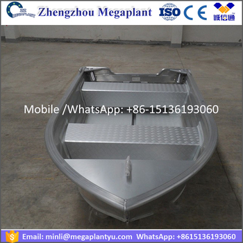Flat bottom aluminum fishing boats good