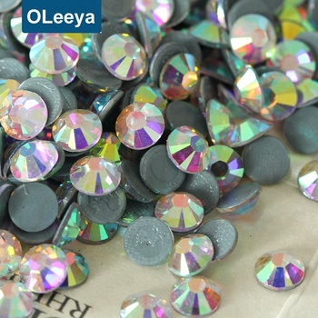484980775b Unique Factory Top Quality glass strass flatback intensive glue crystal AB  hot fix rhinestones manufacturer for bridal dress, View crystal AB hot fix  ...