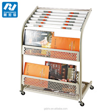 newspaper racks brochure stand for hotel