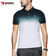 Custom brand logo gradient fashion design mens cotton dri fit blank golf collar tshirts t shirts polo