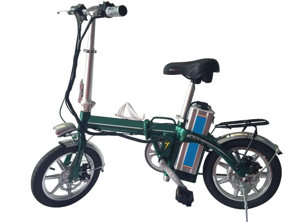 2016 Portable Electric Bike Electric Bicycle Mini Folding
