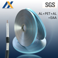 hot sale aluminum mylar foil tape AL/PET/AL/EAA