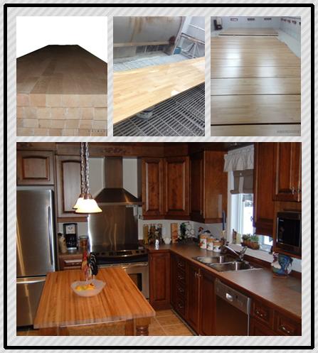 cocina de madera mesa de madera laminada de haya encimeras de madera maciza