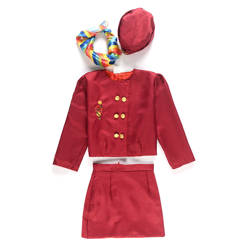 kids factory directly hostess uniform cosplay costumes