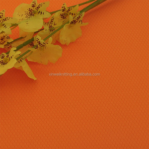 Honeycomb cooling quick dry polyester jersey fabric