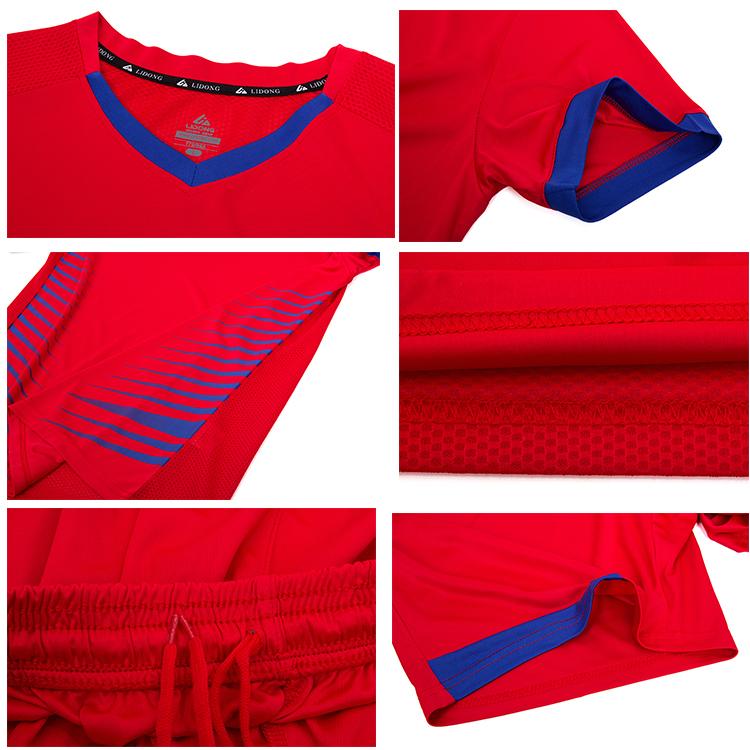 ขายส่งโพลีเอสเตอร์ฟุตบอลเจอร์ซีย์ให้ฟุตบอลชุดปรับแต่งผู้ใหญ่เสื้อ