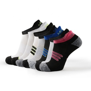 MEIKAN Wholesale Cheap Knit Low Cut Ankle Sox Anti slip Sports Compression Socks Men Athletic No Show Cycling Running Socks