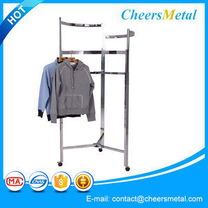 50 types retail metal furniture for clothing store