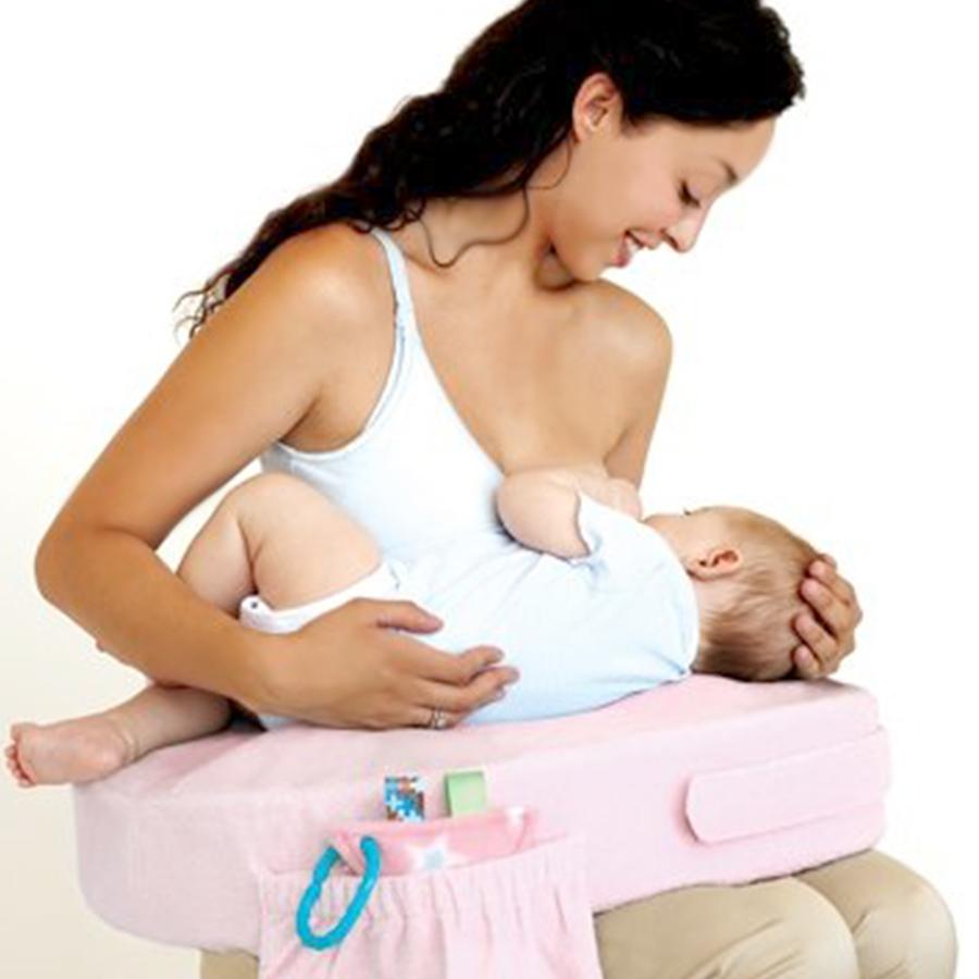 Bambu Perawatan Kecantikan Dekorasi Bayi Meningkatkan Dukungan Bantal Bayi Posisi Bantal Hati-hati Ibu untuk Menyusui