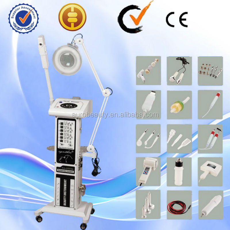 AU-2008A High-Frequency Suppress wound bacterial growth skin care beauty machine
