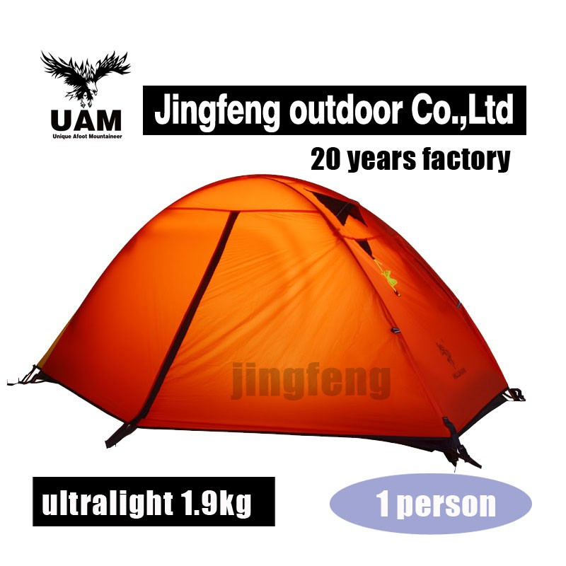 1 man light weight mountain tent