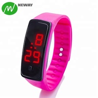2018 Fashion Led Silicone Electronic Wrist Watch