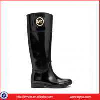 Ladies new product high quality duralbe rubber rain boots