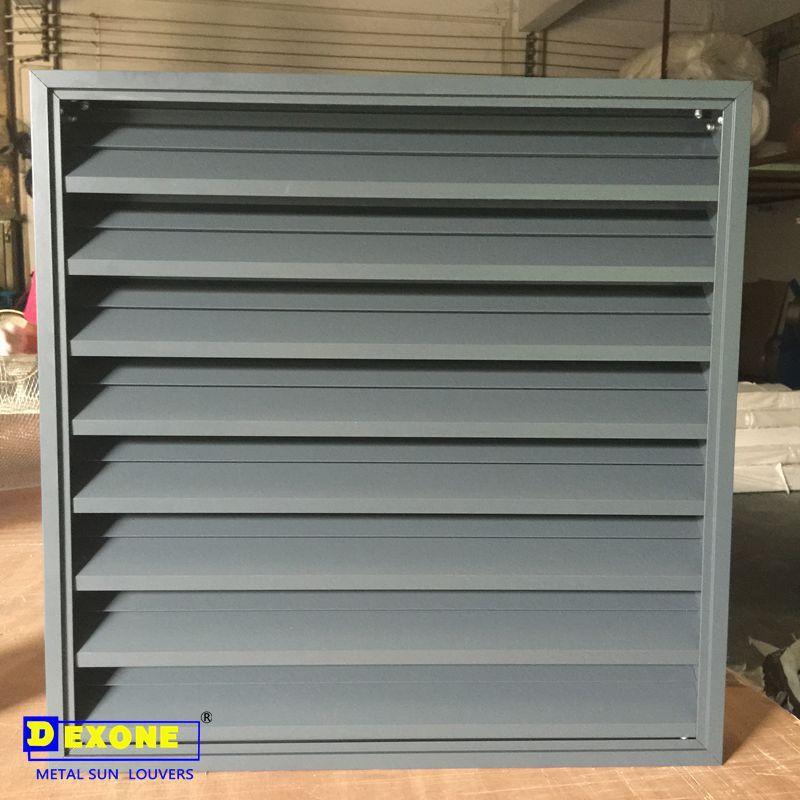 Aluminum Alloy 6063-t5 Sun Shade Aluminium Fixed Louvers Exterior ...