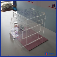 Yageli handemade acrylic storage drawers for makeup excellent craft