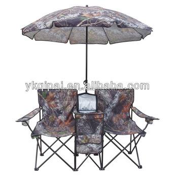 New Design Kids Folding Beach Chair With Umbrella Double Deck