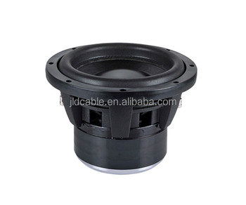 10inch 3inch-4layers High-temp voice coil Dual 2/4Ohm impedance High efficiency 160Oz FEA car subwoofer audio with 10inch basket