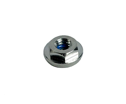 """VistaView CableTec Stainless Steel Washer Nuts With Thread Lock for 1/4""""-20RH Threaded Terminals for Cable Railings (Includes Flange for Cap Attachment) -- Lot of 10"""