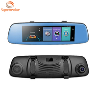 New Arrival 4G Mirror Dual Lens Car Cam 1080P Wifi Dash Camera With ADAS 8Inch Android 5.0 GPS Navigation Car Camera