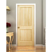 white oak wood panel insulated wooden single main interior door designs