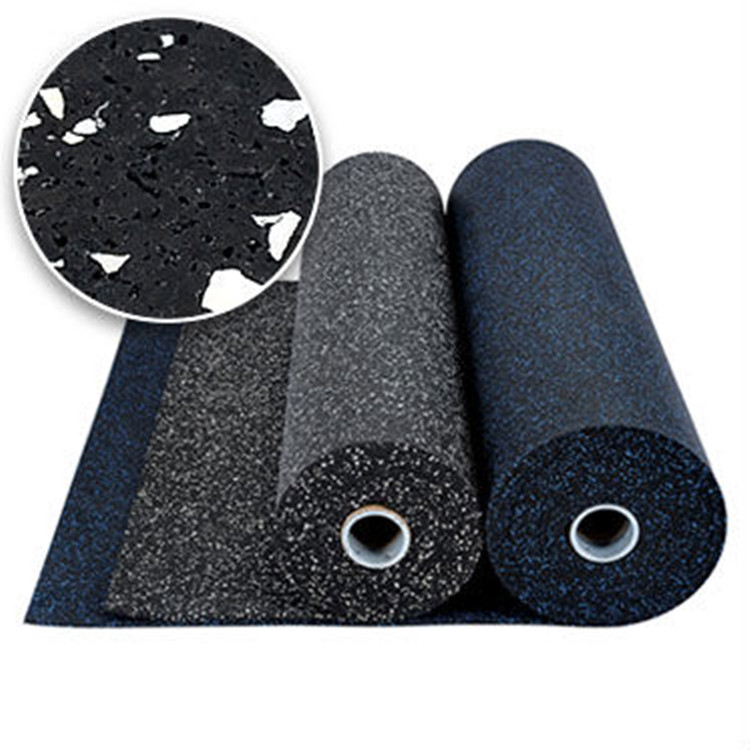 EPDM Fitness Rubber Flooring Rolls/Gym Interlocking Rubber Tiles/Sports Rubber Mat