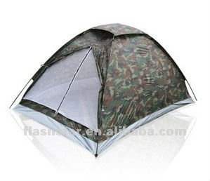 camouflage color camping tent for 2 persons