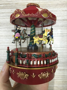 OEM kids carousel for sale carousel horse music box tourist gifts souvenir