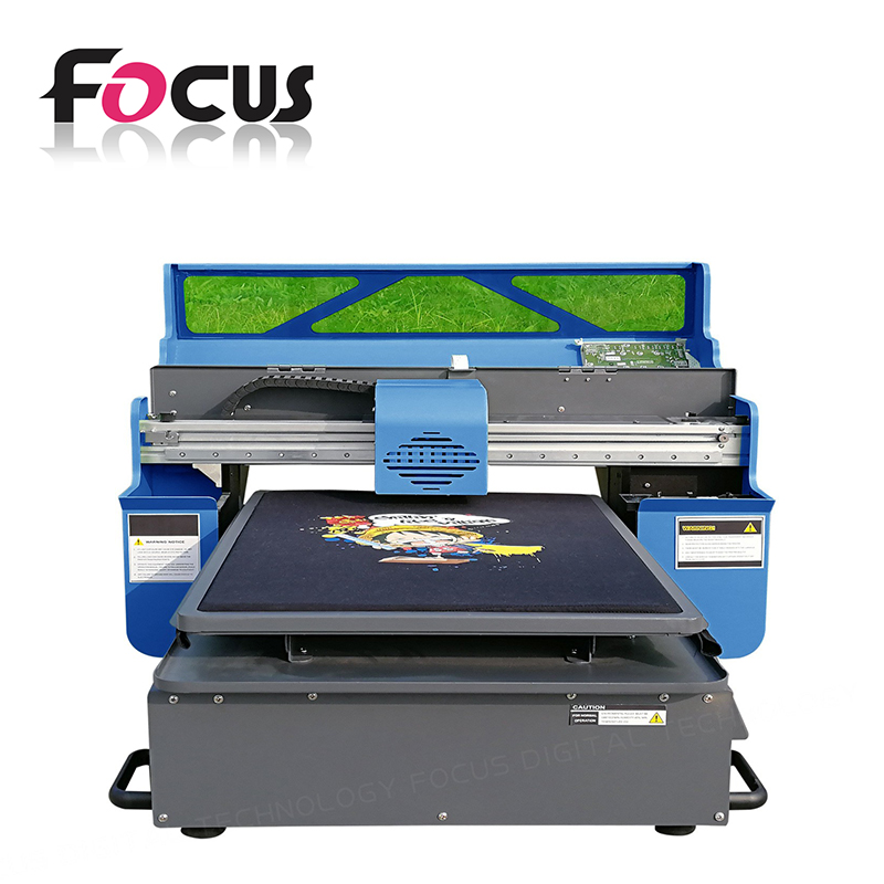 A4 small digital inkjet flex printing machine used direct to garment printers