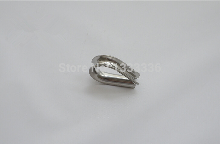 10pcs M10 Stainless Steel Wire Rope Clamp Thimble Triangle Ring ...