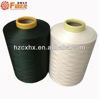 polyester yarn ,dope dyed yarn used clothing