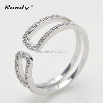 Men New Design 925 Thailand Ring Designs Pirce White Gold Ring