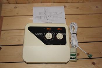 Panel de control de la perilla para 3 9kw sauna calentador - Calentador para sauna ...