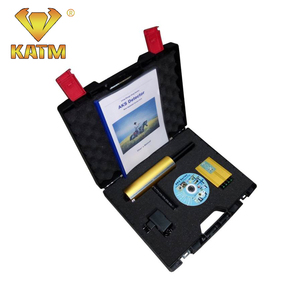 2016 New Updated Version Microchip Processor AKS Lang Range Underground Gold Silver Gem Diamond Metal Detector Free DHL shipping