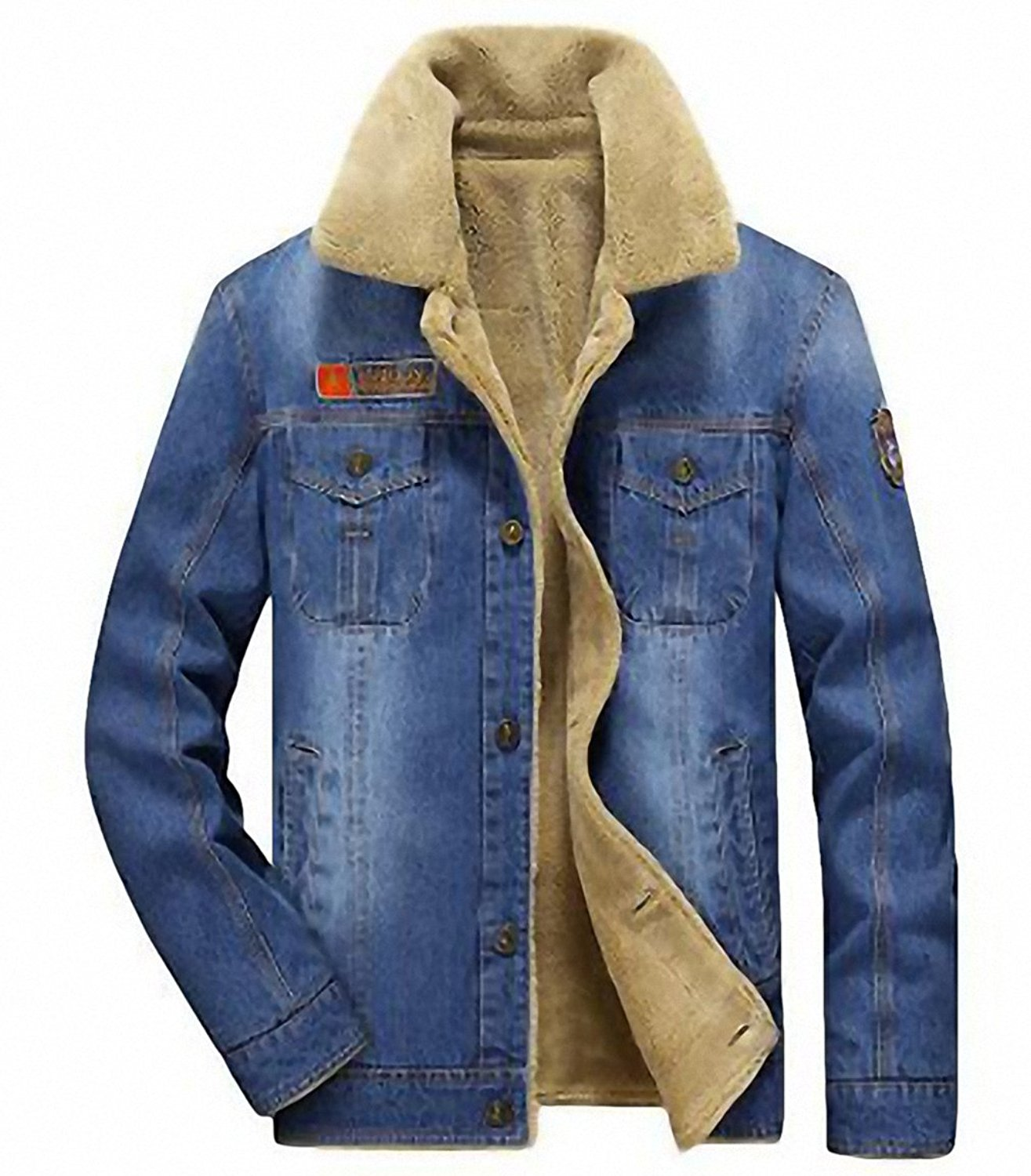 1b038497d3cd M-4XL men jacket and coats brand clothing denim jacket Fashion mens jeans  jacket thick