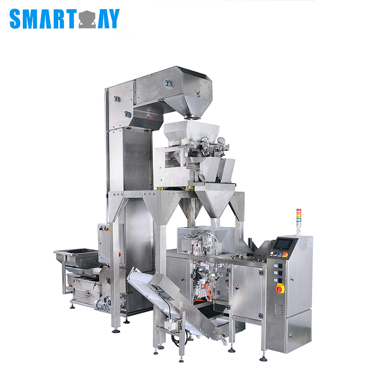 Smart Weigh pack doy semi automatic packing machine with cheap price for food weighing-4