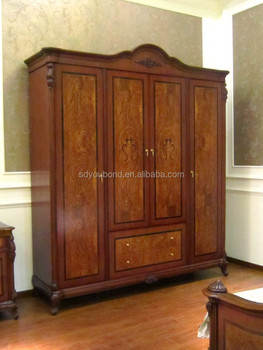 0051 american style wooden wardrobe designs antique wardrobe cabinet - Antique Wardrobe
