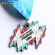2019 WTD Wholesale Customized Ipotpay Runner Finisher 10k Laser Zinc Alloy Metal Medals Soft Enamel Miniature Medals to Honor
