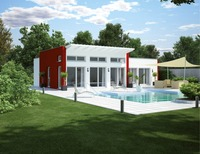 Newest Modern Container Home/Prefabricated Beach House / Luxury