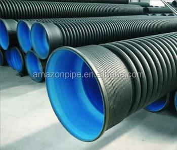 Pe Duker Rohr Sn4 400mm Hdpe Wellrohr Hersteller Buy Pe Duker Rohr